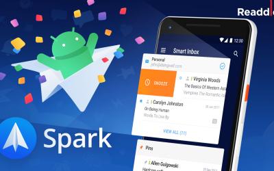 Spark llega a Android con un montón de funciones para gestionar tu correo.