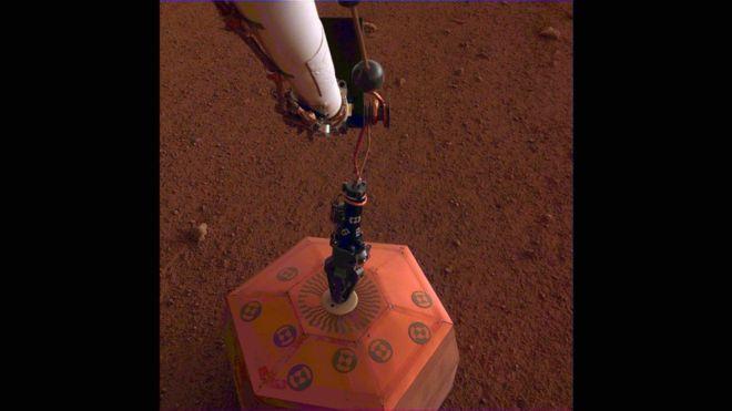 Marte: la NASA registra por primera vez un terremoto en el planeta rojo